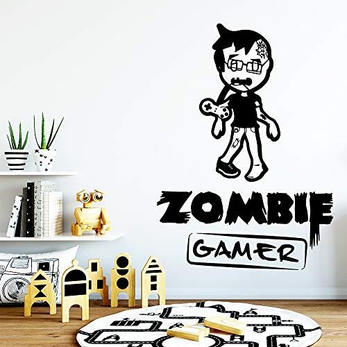 yaonuli muursticker, zombie speler, modieus, vinyl, waterdicht, decoratie van het huis, afneembare muursticker
