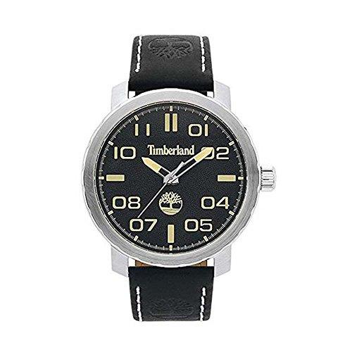 Timberland Reloj Análogo clásico para Hombre de Cuarzo con Correa en Cuero TBL.15377JS/02