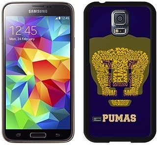 Unique DIY Designed Case For Samsung Samsung Galaxy S5 I9600 G900a G900v G900p G900t G900w With Soccer Club Unam Pumas Football Logo Cell Phone Case