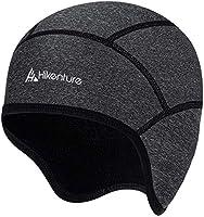 HIKENTURE Winter Hat   Windproof Cycling Cap Winter   Warm Bicycle Cap   Helmet Lingerie Cap Men/Women for Bike Helmet...