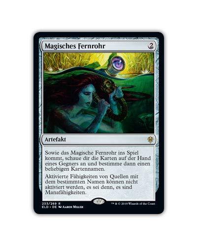 MTG Magic The Gathering Thron von Eldraine - Mythic Rare Karten und Planeswalker - deutsch (#233 Magisches Fernrohr)