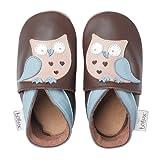 Bobux, Scarpine prima infanzia, design: Gufo, Marrone (Brun), Taglia XL (21-27 mesi)...