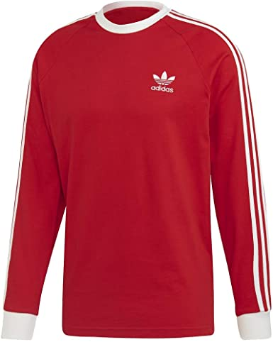 adidas Originals Men's 3-Stripes Long Sleeve T-Shirt