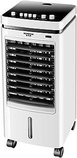 Liten bärbar luftkonditionering 3 vindhastigheter, personlig mobil avdunstning luftkonditionering upp och ner fylla på 2 v...