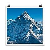 Bilderwelten Poster Wanddeko Der Himalaya Quadrat,