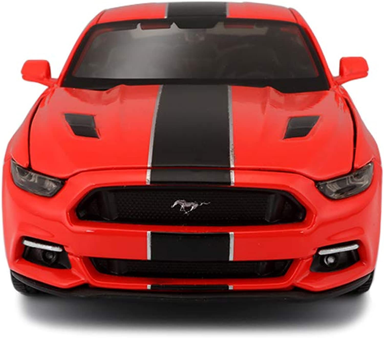60% de descuento YSDHE Coche Modelo 1 24 Ford Mustang GT simulación simulación simulación de aleación de fundición a Troquel joyería de Juguetes colección de Autos Deportivos joyería 20x8.7x6 CM  a precios asequibles