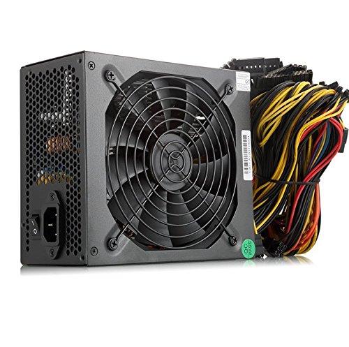 Ibest impulso ATX alimentatore 1600W Mineraria server alimentatore 1600W Gold PSU estrazione 140mm ventola silenziosa con estrazione macchina per 6GPU Rig Ethereum Bitcoin Miner