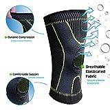 Zoom IMG-2 alenyk ginocchiera ortopedica compressione ginocchio