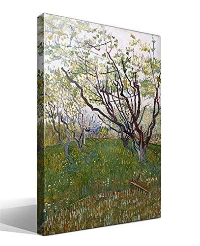 Cuadro Canvas El Huerto de Flores de Vincent Willem Van Gogh