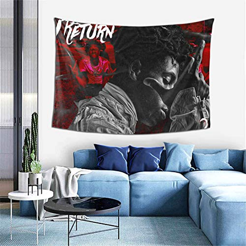 Tapestry Wall Hanging YoungBoy Never Broke Again Top tapestry for Bedroom aesthetic Home Wall Decoration Beach Blanket One Size