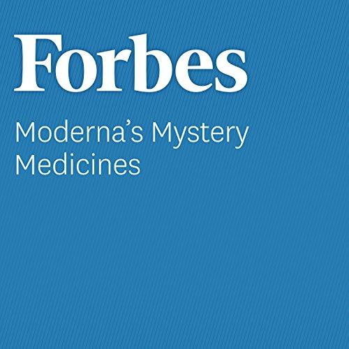 Moderna's Mystery Medicines audiobook cover art