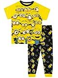 Minions Pijamas para Niños Amarillo 8-9 Años