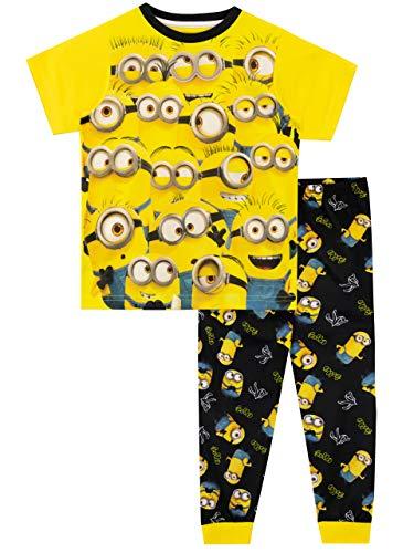 MINIONS Jungen Schlafanzug Gelb 122