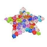 KAKOO 120Pcs / 2.5CM Diamante di Cristallo plastico Acrilico Trasparente Decorazione Festa...