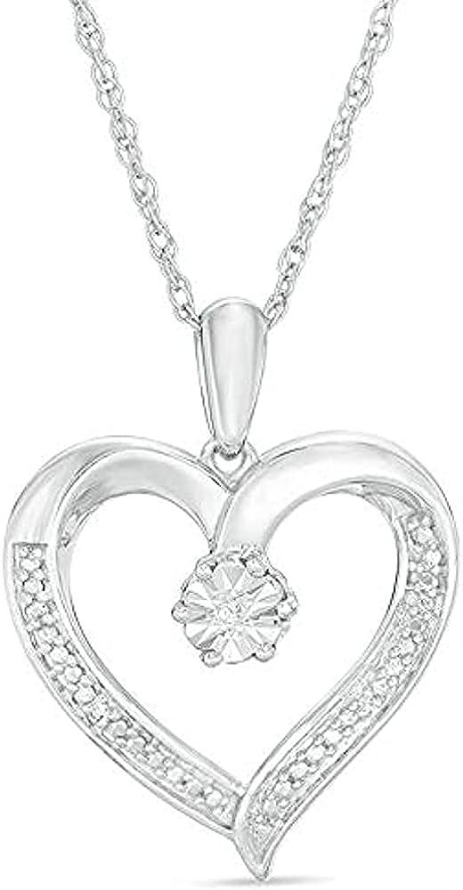 1 Long-awaited 4Ct Round Cut D VVS1 Diamond Heart 18