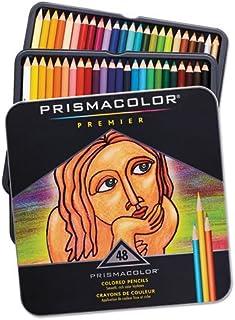 Prismacolor Premier 软芯彩色铅笔,各种颜色 (3598T)