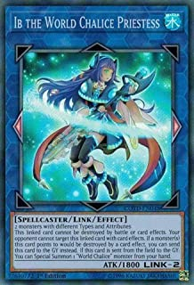 Ib the World Chalice Priestess - COTD-EN048 - Super Rare - 1st Edition - Code of the Duelist (1st Edition)
