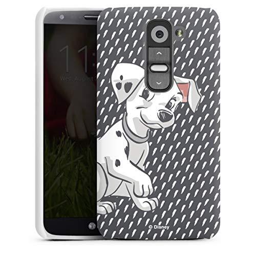 DeinDesign Premium Hülle kompatibel mit LG G2 Mini Smartphone Handyhülle Hülle matt 101 Dalmatiner Disney Offizielles Lizenzprodukt