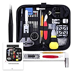 commercial Vastar Watch Repair Kit, Watch Repair Tool Professional Spring Bar Tool Kit, Watch Strap Pin … jewelry repair tool