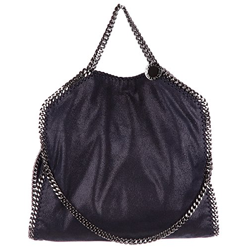 Stella McCartney damen falabella fold over Handtaschen blu