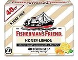 Fisherman's Friend Cough Drops, Honey-Lemon Menthol, 5.5mg, 40 Count (Pack of 6)