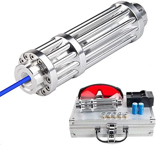 HTZ-M Blaue Hochleistungs-Taschenlampe...