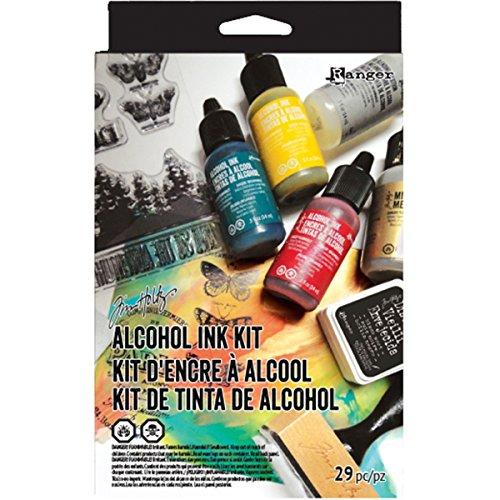Ranger Distress Kit di inchiostri a Base alcolica, Multicolore