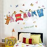 WLYUE DIY Mural de Arte Artesania, 140 * 100 cm estante de secado dormitorio...