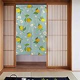 Oysters with Lemon - Cortinas opacas para habitación de niñas, guardería, cortinas opacas con aislamiento térmico, 86,6 x 137,8 cm