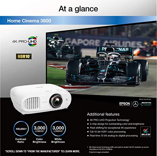 Epson Home Cinema 3800 4K Projector Review