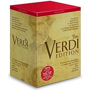 Verdi 12 Great Operas [José Cura, Renée Flemming, Joseph Calleja, Plácido Domingo] [Opus Arte  OA1105BD] [DVD] [2013] [NTSC]:Priorcastleinnvictoria