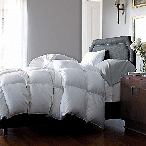 Legends Luxury Geneva Primaloft Down Alternative Comforter, Medium Warmth, Queen White