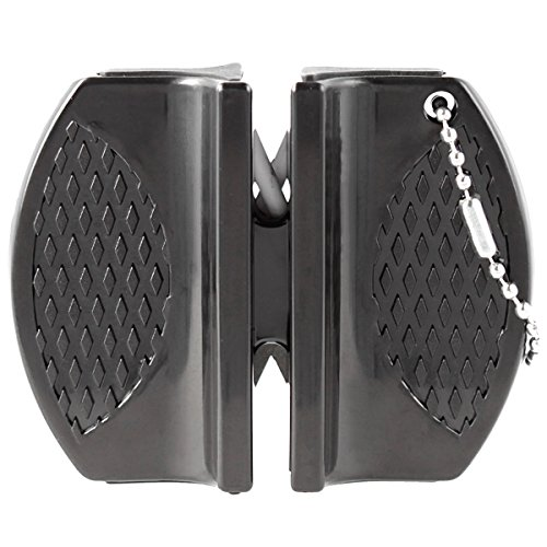 Oramics Micro Messenslijper Mini voor outdoor, jagers en onderweg, slijpgereedschap, messenslijper