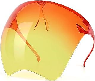 Qiaipo Goggle Sunglasses Visor Full Face Cover UV 400 for Men and Women