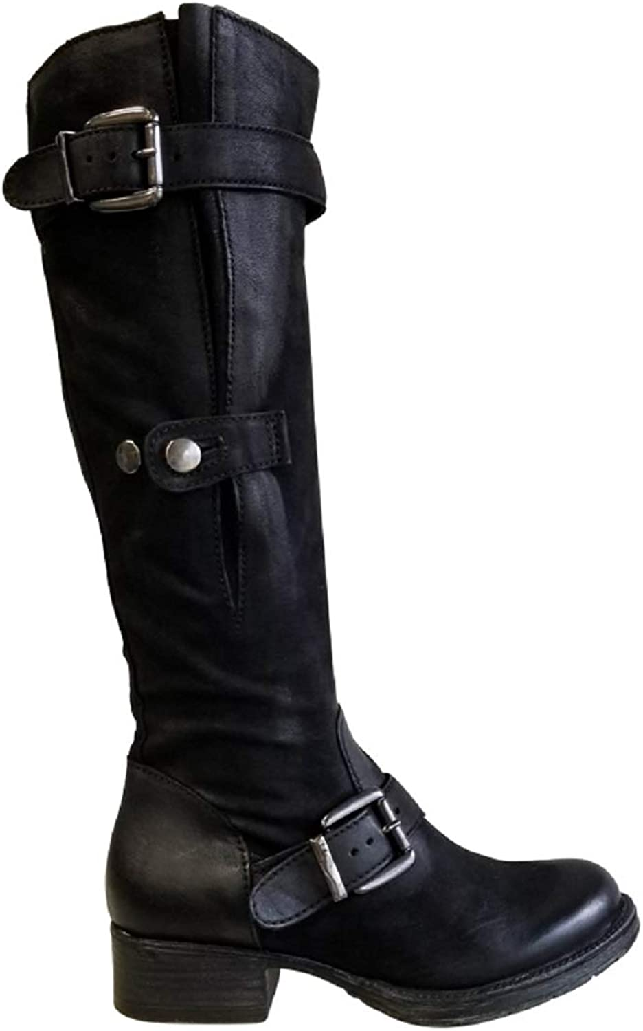 Mjus Black Leather Boot. 135306 Size 10