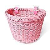 Colorbasket½ Junior Front Handlebar Bike Basket - Pink