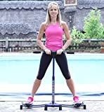 Fiona Summers <span class='highlight'>Leg</span>Master Total Body <span class='highlight'>Leg</span> Master Exerciser Home Gym Fitness Equipment Weight Loss Aid Slimming and Exercising <span class='highlight'>Leg</span>s, Thigh & Bums
