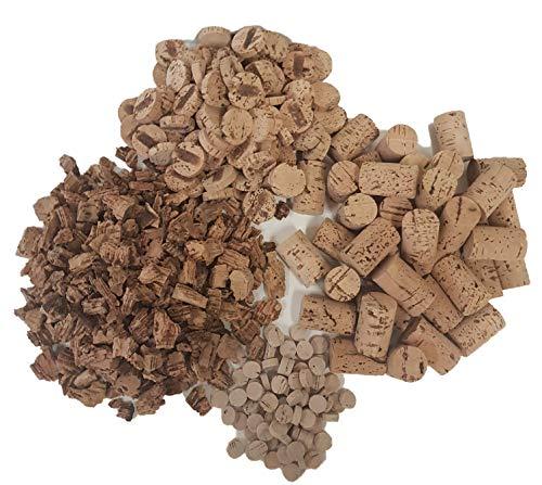 Set de manualidades de corcho – corcho de vino – discos de corcho – decoración de corcho – DIY corcho – Nuevo juguete vegano