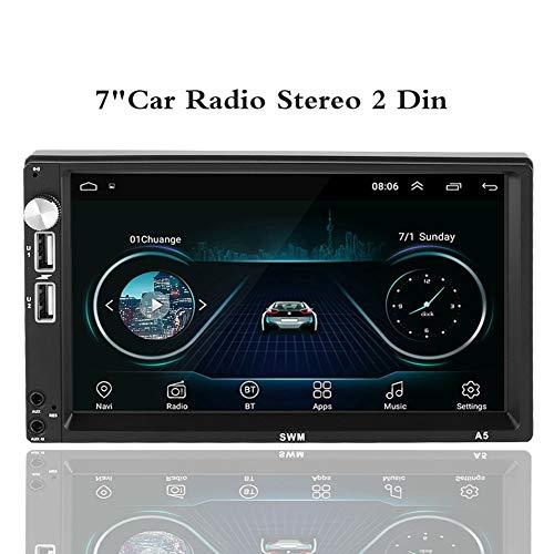 Tangxi Android 8.1 autoradio stereo 2 din 7 inch touchscreen GPS-navigatie met bluetooth mobiele telefoonverbinding, ondersteuning voor wifi bluetooth achteraanzicht