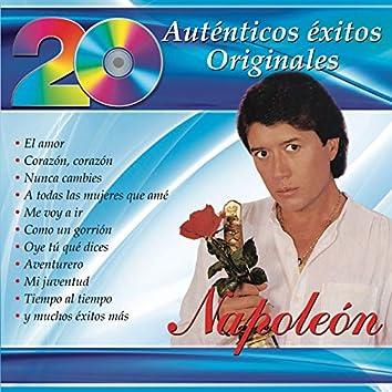 20 Auténticos Éxitos Originales - Napoleón