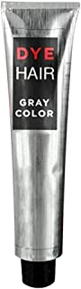 Tinte para el cabello Aemiy semipermanente para colorear el cabello, herramientas de peinado para mujeres y hombres, 100 ml, color gris ahumado, crema de larga duración, pura, para cabello
