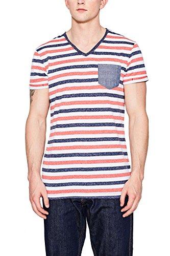 Edc by Esprit 047cc2k070 T-Shirt, Blanc (White 100), XX-Large Homme