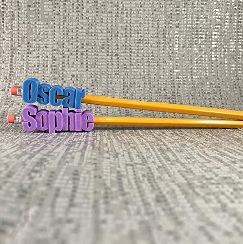 Personalised Pencil Topper