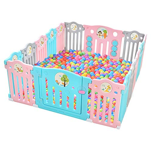 Best Review Of Foldable Baby Playpen Kids Activity Centre Safety Play Yard Home Indoor Baby Playpen ...