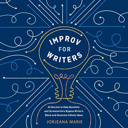 Improv for Writers audiobook cover art