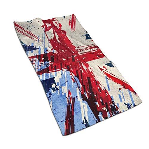 Hdadwy Bandera de Inglaterra Paño de Cocina Divertido Paño de Cocina Toalla de Microfibra súper Absorbente de 17.5 x 27.5 Pulgadas para Limpiar el hogar, cocinar, Lavar el automóvil, Lavar Platos