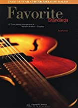 Favorite Standards Jazz Guitar Chord Melody Solos