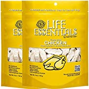 All-Natural Freeze Dried Chicken Treats for Dogs & Cats No Grains, Fillers, Additives and Preservatives Proudly Made in the USA - 2 Pack (5 oz. Bag)