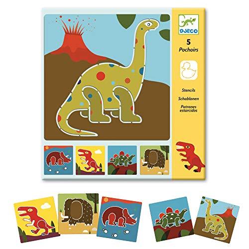 DJECO - Dinosaurier-Einlegesohlen, mehrfarbig