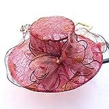kyprx Sombreros & amp; Gorras Sombreros Baratos & amp; Elegantes Sombreros de Encaje para Mujer FlowerSun Hat Wedding Derby Sea Beach